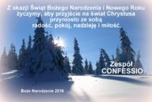BOZE NARODZENIE 2016 - CONFESSIO